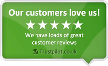 5 Star Service - over 2,000 independent reviews!