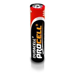 Duracell Procell AAA Battery 1.5V (pack of 10)