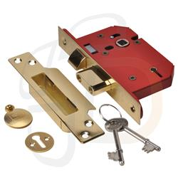 <b>Union Strongbolt 2205 Non BS 5 Lever Mortice Sashlock</b>