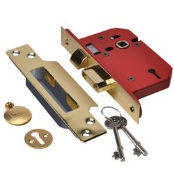 <b>Union Strongbolt 2203 3 Lever Mortice Sashlock</b>