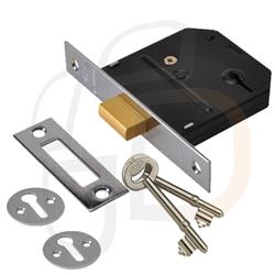 <b>Union Essential 3 Lever Mortice Deadlock</b>