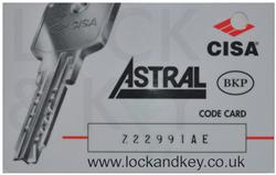 CISA Key cutting £3.95 inc VAT Fast Secure Recorded Delivery