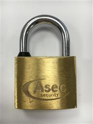 <b>Asec Brass Padlocks Keyed Alike</b>