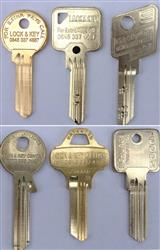 Lock and Key Specialist Keys