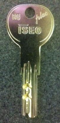 Iseo R6 Plus Key Cutiing Iseo R6 Keys