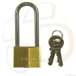 <b>Abus 65 Series Keyed Alike Long Shackle Padlock</b>