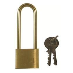 <b>Ifam E Series Brass Shackle Padlock</b>