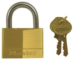 <b>Master Keyed Alike Brass Padlocks</b>