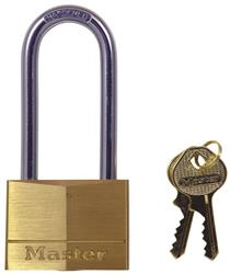 <b>Master Long Shackle Keyed Alike Brass Padlock</b>