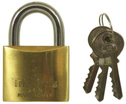 <b>Tri Circle Brass Padlocks</b>