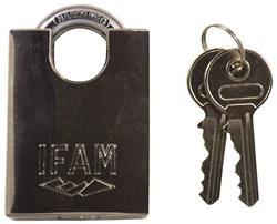 <b>Ifam MAX50 45000 Stainless Steel Close Shackle Padlock Keyed Alike</b>
