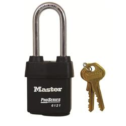<b>Master 612 Pro Series Weather Tough Long Shackle Padlocks</b>
