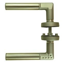 <b>Union Codehandle Digital Lever on Rose Furntiure</b>