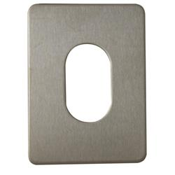 <b>Souber UE1 Large Stick On Oval Escutcheon</b>