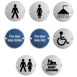 <b>Stainless Steel Signs</b>