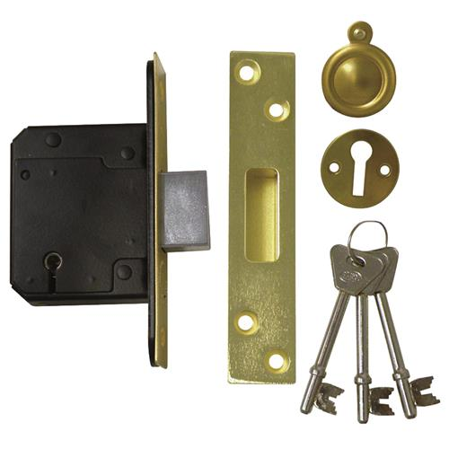 Legge 5641 5761 bs 3621 2007 deadlock 64mm 2 5 for 1 hour fire door blanks