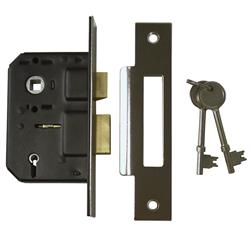 <b>Securefast Contract 5 Lever Mortice Sashlock</b>