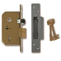 <b>Union 3K75 5 Lever Mortice Sashlock</b>