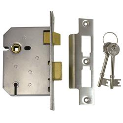 <b>Union 2277 3 Lever Mortice Sashlock</b>