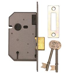 <b>Union 2157 3 Lever Upright Deadlock</b>