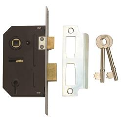<b>Union 2243 3 Lever Mortice Sashlock</b>