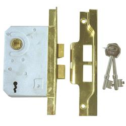 <b>ERA 287/387 Rebated 2 Lever Sashlock</b>