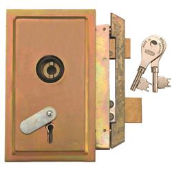 <b>Union 22511/22512 4 Lever Metal Casement Lock</b>