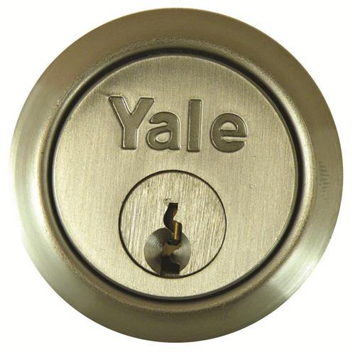Yale 1109 Rim Cylinders Brass Rim