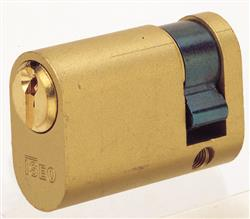 <b>Iseo F5 Open Profile Oval Single Cylinders</b>