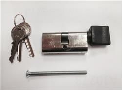 <b>Cisa Small Key & Turn Oval Patio Door Cylinder</b>