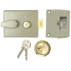 <b>Union 1028 Standard Cylinder Nightlatch (60mm Backset)</b>