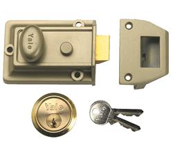 <b>Yale 77 Traditional Nightlatch (60mm Backset)</b>