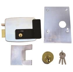 <b>Cisa 11823 Electric Rim Lock for Up and Over Garage Doors</b>