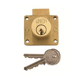 <b>Union 4010 5 Pin Cylinder Deadbolt Drawer Lock</b>