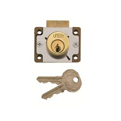 <b>Union 4147 4 Pin Cylinder Deadbolt Cupboard/Drawer Lock</b>