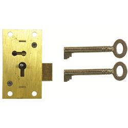 <b>D10 2 LEVER STRAIGHT CUPBOARD LOCK</b>