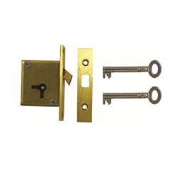 <b>D16 4 LEVER MORTICE SLIDING CUPBOARD LOCK</b>