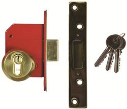 <b>Era BS3621:2004 Euro Deadlock Complete Lockset</b>