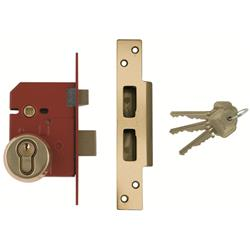 <b>Union BS3621:2007 Euro Sashlock Complete Lockset</b>