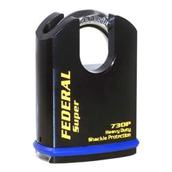<b>Federal FD730P CEN-4 Sold Secure 60mm Body Protected Padlock</b>