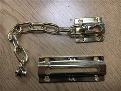 <b>Yale Brass Door chain