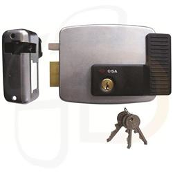 Cisa 11921 Electric Rim Lock for Metal Doors & Gates