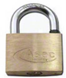 Asec Master Keyed Brass Padlocks