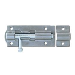 ASEC Zinc Plated Straight Tower Bolt