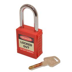 ASEC Safety Lockout Tagout Padlock