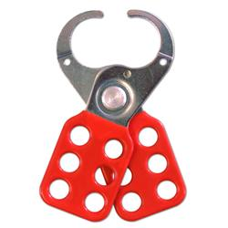 ASEC Vinyl Coated Lockout Tagout Hasp