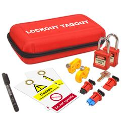 ASEC Electrical Lockout Tagout Kit