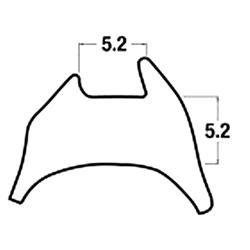 <b>Reddiplex R3366 5.2mm Gap Wedge Gasket</b>