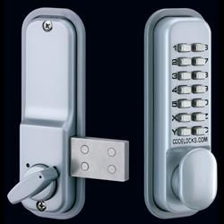<b>Codelocks CL100</b> Surface Rim Deadbolt Digital Lock