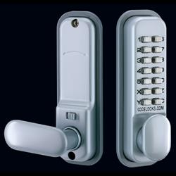 <b>Codelocks CL155</b> Mortice Latch Digital Lock with Dual Backplate